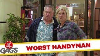 World's Worst Handyman Prank