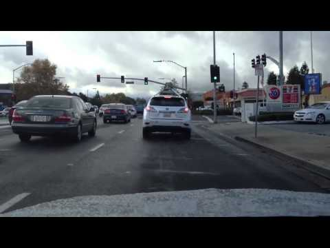 Google Self-Driving Car vs Pedestrian