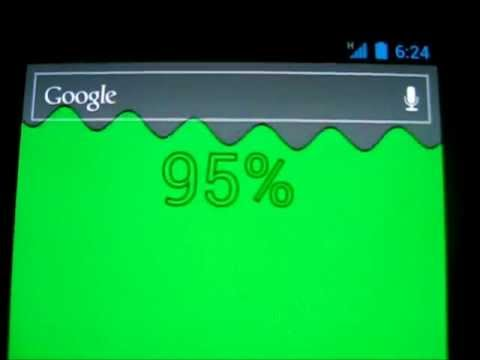 Video of Battery Level Live Wallpaper