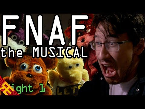 Five Nights at Freddy's: The Musical - Night 1 (Live Action Feat. Markiplier)