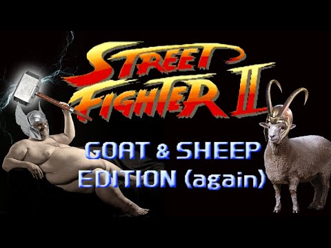 Street Fighter: Goat & Sheep Edition (again) - Marca Blanca