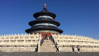 A visit to the beautiful Temple of Heaven 天壇 in BeiJing.