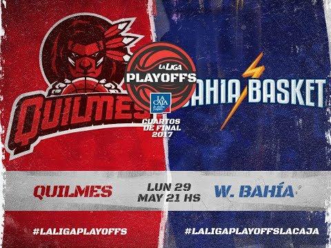 Liga Nacional: Quilmes vs. Bahía Basket   #LaLigaEnTyC