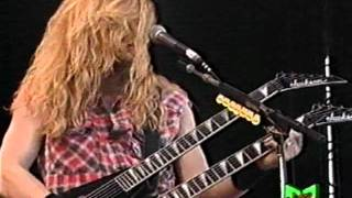 Megadeth  In My Darkest Hour Live In Italy 1992
