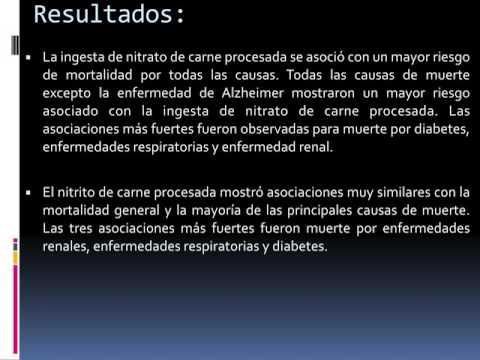 Mortalidad por todas las causas asociada a consumo de carne. Dr. Alejandro Negrete. Residencia de Cardiología. Hospital C. Argerich. Buenos Aires