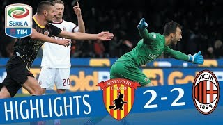 Video Benevento - Milan 2-2 - Highlights - Giornata 15 - Serie A TIM 2017/18 MP3, 3GP, MP4, WEBM, AVI, FLV Februari 2018