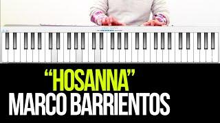 Como tocar hosanna de Marco Barrientos - Piano