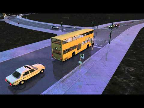 OMSI The Bus Simulator - Gameplay