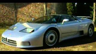 Bugatti EB 110 - Dream Cars