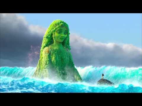 Restoring the Heart of Te Fiti - Moana Movie Scene
