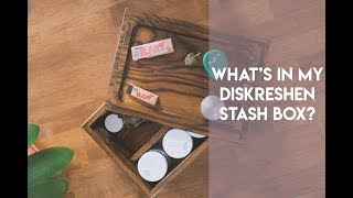 WHATS IN MY STASH BOX?     DISKRESHEN STASH BOX REVIEW by Stoney Sprite