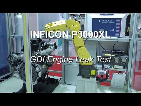 GDI Engine Leak Test with the Protec P3000XL Helium Leak Detector