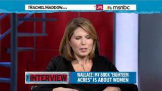 Rachel Maddow- Nicolle Wallace on the view from under the bus