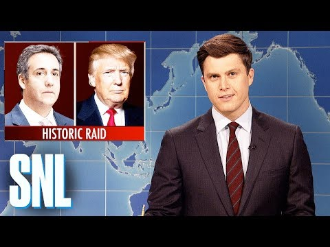 Weekend Update on Michael Cohen Raid - SNL