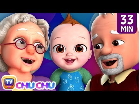 Johny Johny Yes Papa - Grandparents Song + More Nursery Rhymes by ChuChu TV