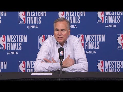 Mike D'Antoni Postgame Interview - Game 7 | Warriors Vs Rockets | 2018 NBA West Finals