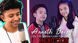 Video INDONESIAN IDOL Kids?? SINGER Reacts to Like I'm Gonna Lose You - Anneth & deven cover MP3, 3GP, MP4, WEBM, AVI, FLV April 2019