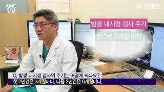 방광 내시경 검사의 주기는 어떻게 되나요? 미리보기
