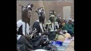 Group PEULH dance in Mali