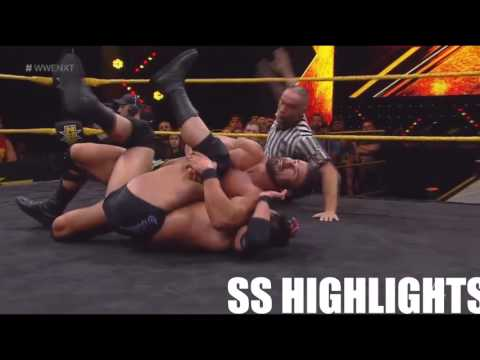 Bobby Roode vs Roderick Strong NXT 7-5-17 Highlights