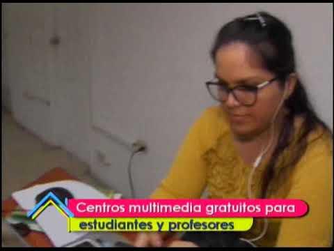 Centros multimedia gratuitos para estudiantes y profesores