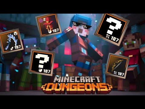 Minecraft Dungeons - Fastest Way To Upgrade Gear/Power!