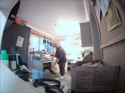 Timelapse Kitchen Tidy