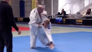 This video is about Sasae Tsuri-Komi Ashi four styles of the throw and shows a counter in contest. 1 step across and pivot style 2. step even, close contact ...