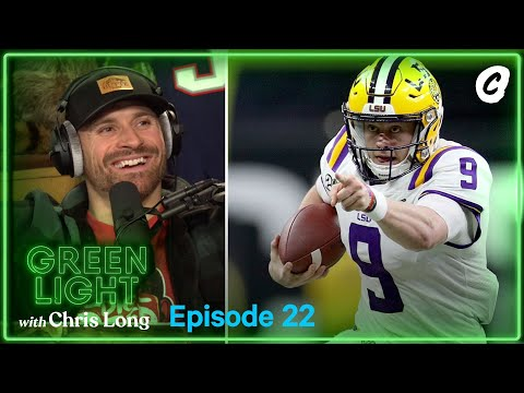 Joe Burrow Tweets and Magical CFP National Championship on Green Light Podcast | Chalk Media
