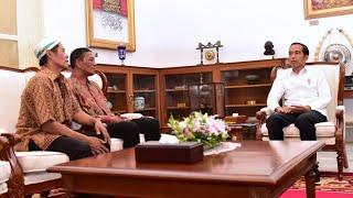 Video Presiden Jokowi Menerima Pedagang Kaki Lima Korban Penjarahan, Istana Merdeka, 24 Mei 2019 MP3, 3GP, MP4, WEBM, AVI, FLV Mei 2019