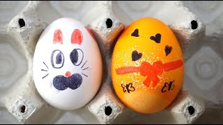 Thank You for watching!DIY homemade painting easter eggs.
