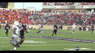 Justin Blackmon vs Texas Tech 2011