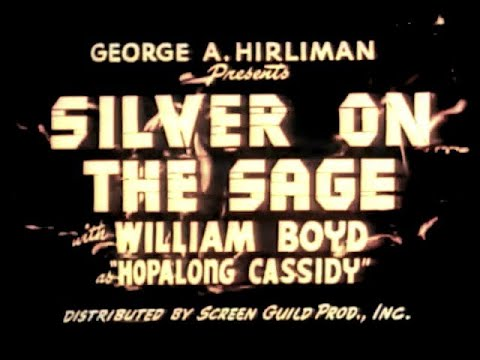 Silver on the Sage 1939, Colorized, William Boyd, Western