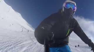 Finkenberg Austria  City new picture : Ski Finkenberg Zillertal Arena 2015| GoPro | Narty Austria