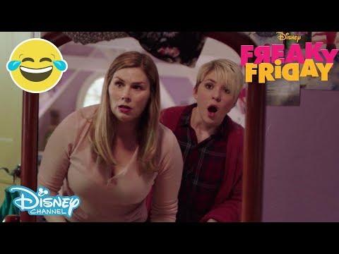Freaky Friday   Sneak Peek - The Switch! 😱   Disney Channel UK