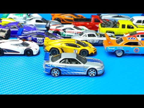Let's See 50 Premium Real Riders Hot Wheels Cars