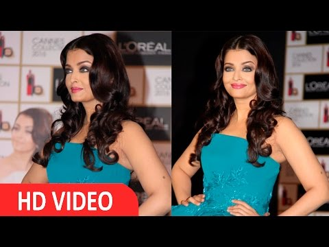 Aishwarya Rai Bachchan At Launch Of Loreal Paris Cannes Collection