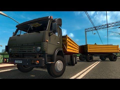 KAMAZ 5410 + Trailers 1.26 Update