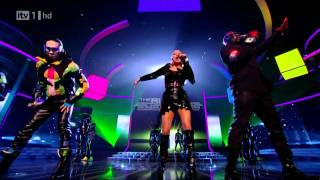 [1080p] Black Eyed Peas - The Time (Live X-Factor UK 05.12.10)
