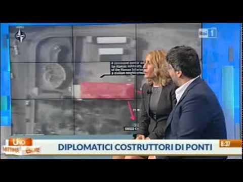 L'arte della diplomazia - Unomattina intervista Fabrizio Lobasso e Hanna Pappalardo