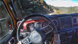 2020 Jeep Wrangler Rubicon EcoDiesel POV Drive (Off-Road) by MilesPerHr