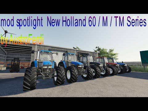 New Holland 60 / M / TM Series v1.0