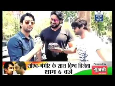Download SAURAV GURJAR AND ROHIT BHARWADJ  GIVE TODAY 'S BIRTHDAY SURPRISE FOR SHAHEER SHEIKH HD Mp4 3GP Video and MP3