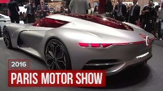 Renault Trezor: Autonomy, Electricity, Pretty by Roadshow