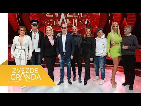 ZVEZDE GRANDA UŽIVO 2021: Cela 57. emisija (06. 03.) - video - zadnja emisija - Dalje su prošli Alem, Andrijana, Almir, Martin, Irina, Ivana, Belma, Milica, Sanela i Mustafa