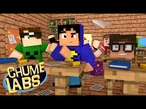 Minecraft: UM DIA NA ESCOLA! (Chume Labs 2 #59) (видео)