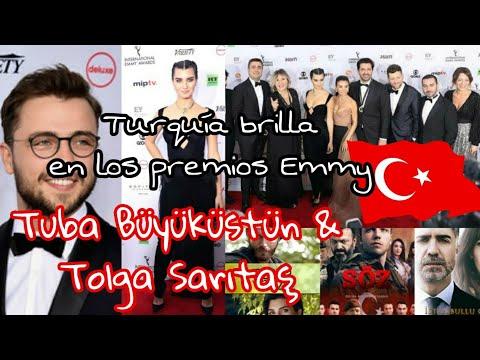 Videos de amor - Premios Emmy 2018 Turquía brilla  series Turcas Tüba Büyüküstün  Tolga Sarıtaş
