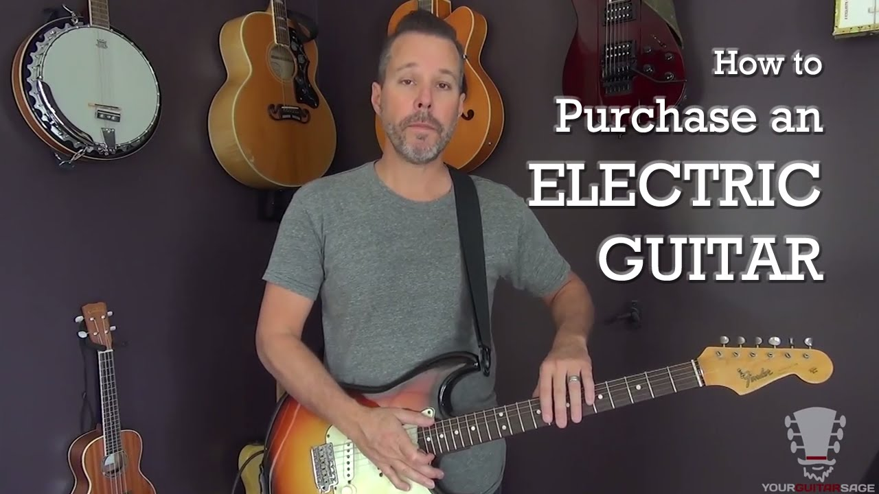 How to Purchase an Electric Guitar – Beginner Lesson