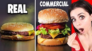 Video Food In Commercials VS  In Real Life ! MP3, 3GP, MP4, WEBM, AVI, FLV Juli 2019