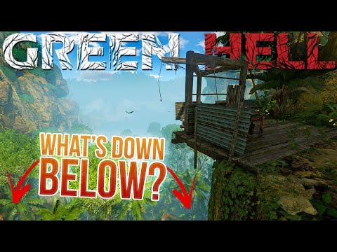 A Hidden Elevator Lift? - We Found A Crashed Jeep! - Green Hell Gameplay Highlighs